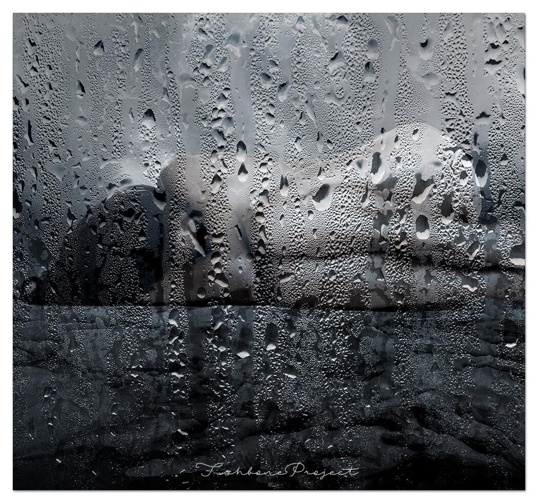 """""""Rain drops №2"""" 100 x 100"""