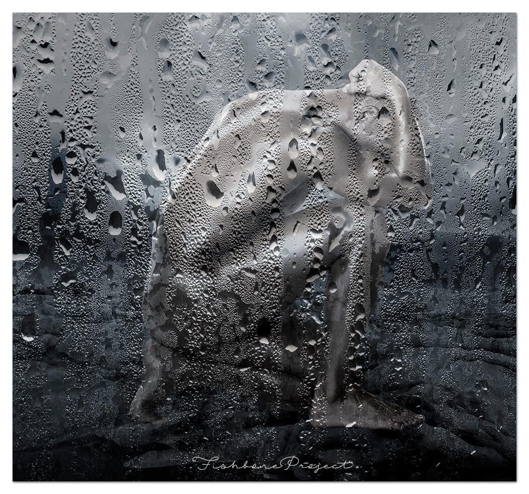 """""""Rain drops"""" 100 x 100"""