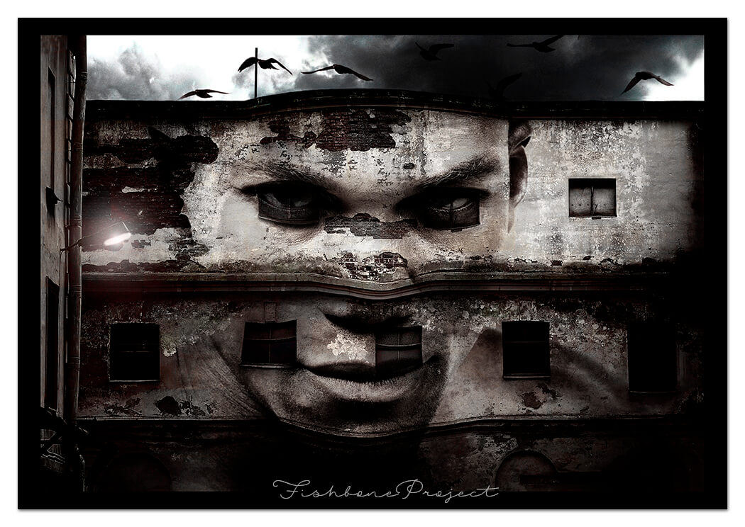 """""""Abandoned"""" 120 x 80"""
