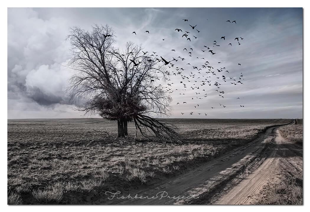 """Tree of life"" 120 x 80"